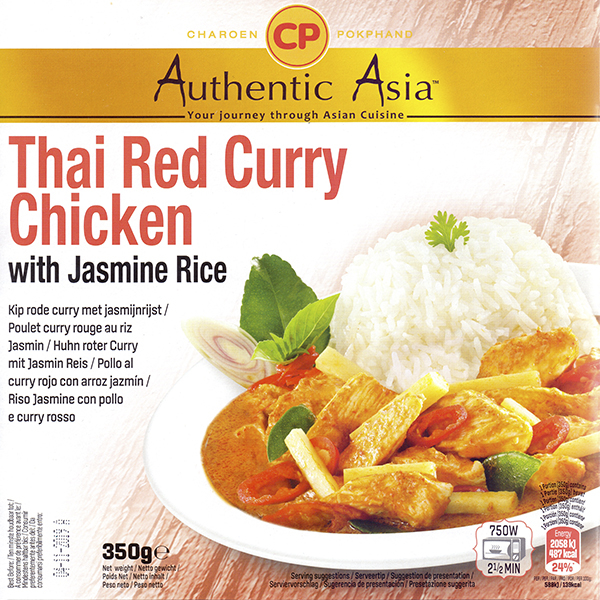 405101 Thai Red Curry Chicken