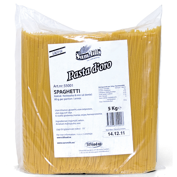 55001 Spaghetti 5 kg